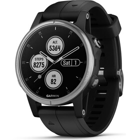 Garmin fenix 5S Plus Reloj Inteligente, silver/black